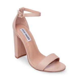 Carson Blush Block Heels size 7.5